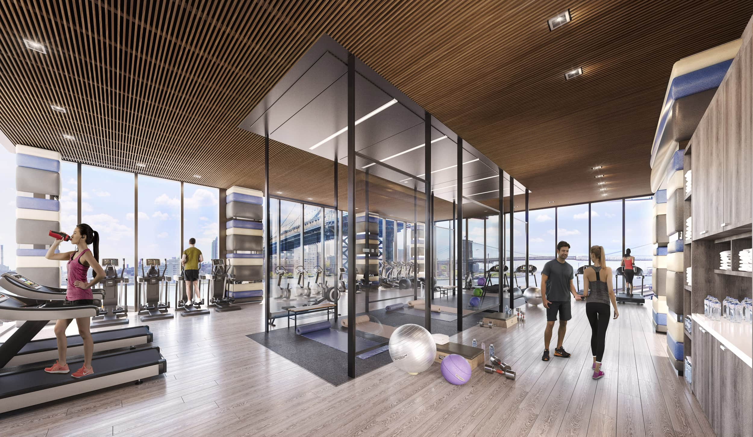 One Manhattan Square Gym